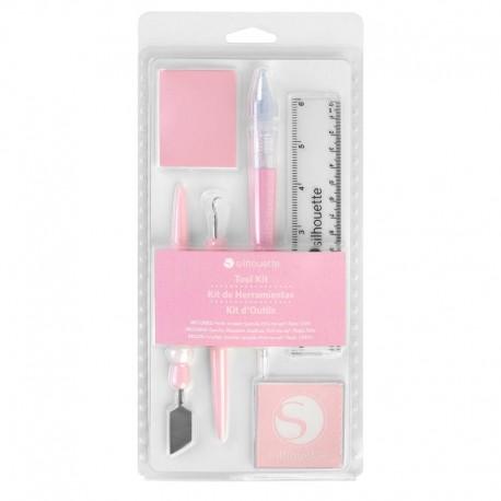 Kit herramientas Silhouette - Rosado