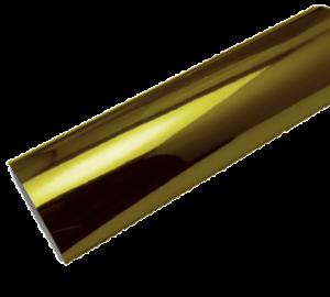 Vinilo decorativo dorado espejo