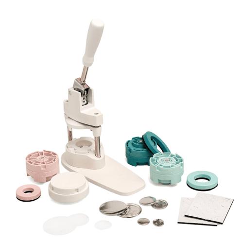 Button press kit maquina de chapitas