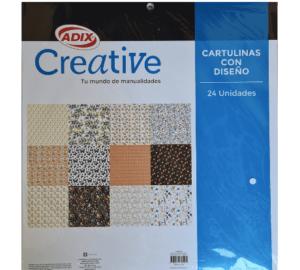 Cartulinas adix 24 hojas