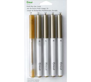lápices cricut dorados