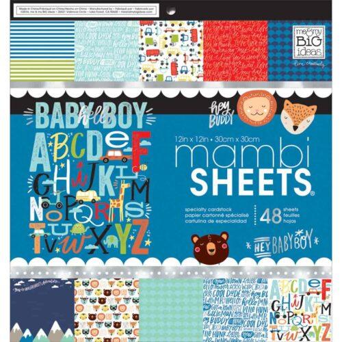 Álbum scrapbook mambi sheets