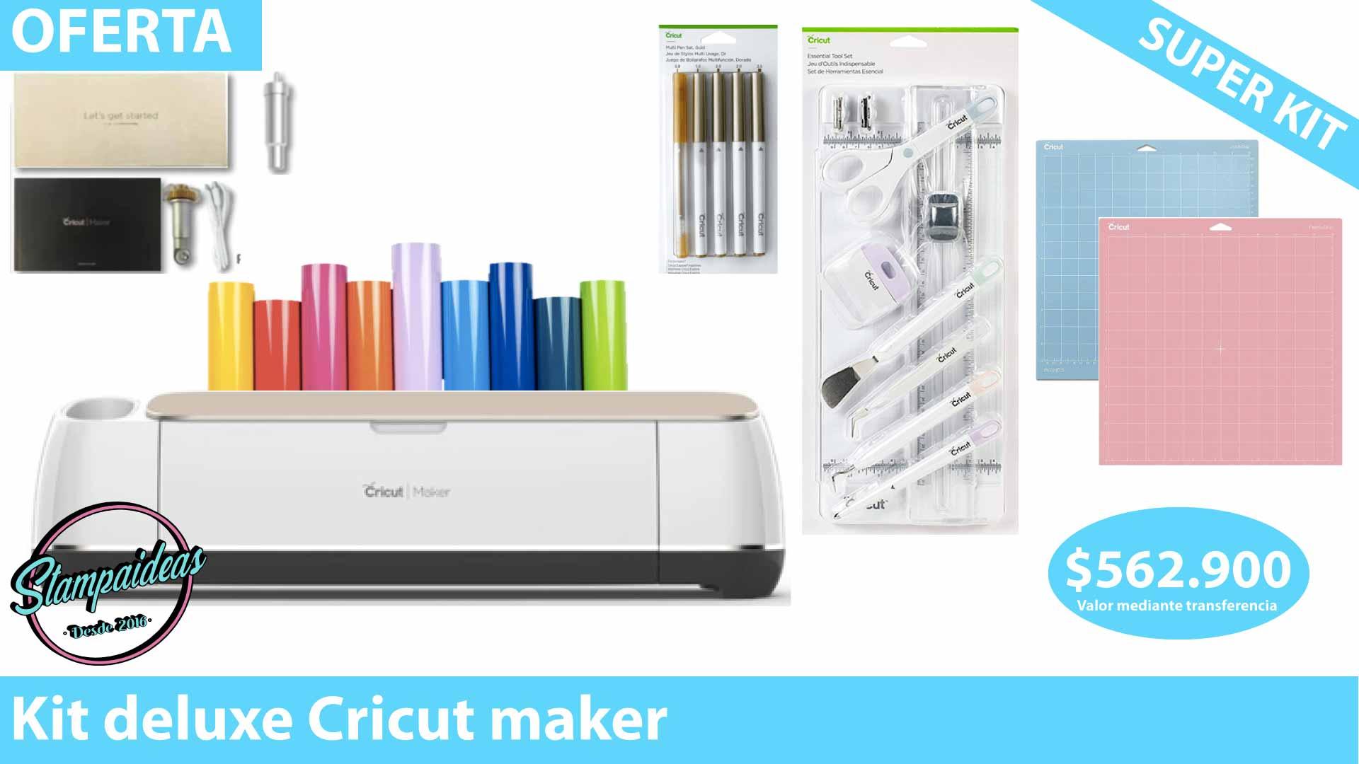 cricut maker kit deluxe