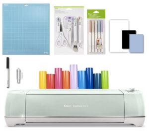Cricut explore air 2 kit herramientas + lápices