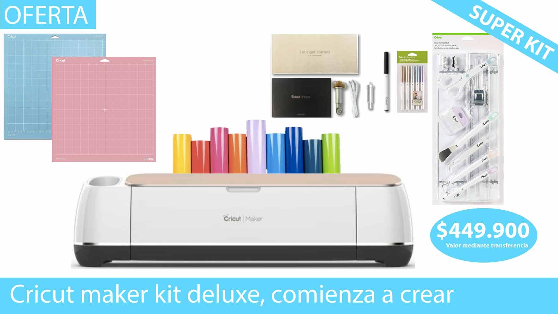 Cricut maker kit deluxe 2