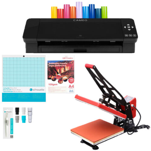 Silhouette Cameo 4 kit emprendimiento + estampadora
