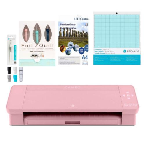 Silhouette cameo 4 rosa kit foil