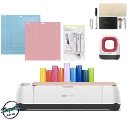 Cricut maker + mini easy press kit emprendimiento