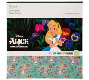 Álbum scrapbook Alicia en el país de las maravillas Cricut