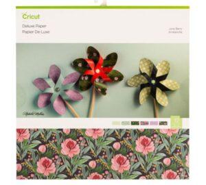 Álbum scrapbook Flores Cricut