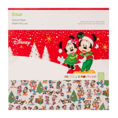 Álbum scrapbook Micky Mouse navidad Cricut