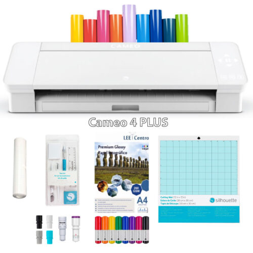 Silhouette Cameo 4 PLUS kit de inicio