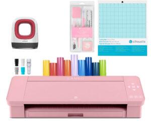 Silhouette Cameo 4 rosada kit emprendimiento
