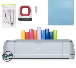 Cricut maker 3 + mini easy press + herramientas