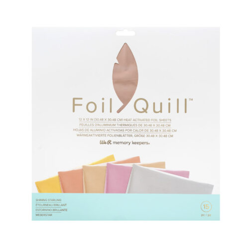 Foil quill starling 30, 5 x 30,5 cm