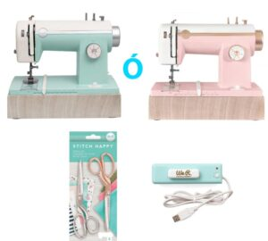 Kit maquina de coser We R Memory keepers